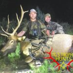 new mexico elk outfitter - tg's trophy hunts with successful hunter Dustin
